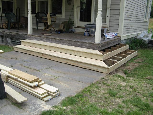 Porch Steps Vermont Carpentry Designs