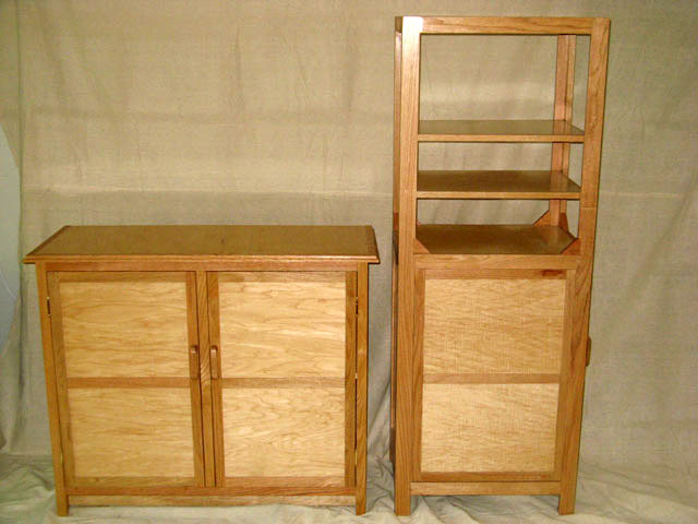 Cabinet and Tower Storage Units